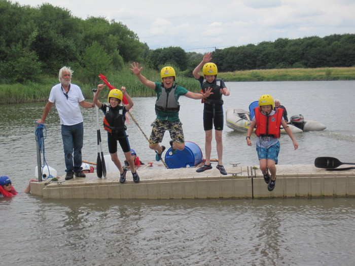 District Raft Race 2016